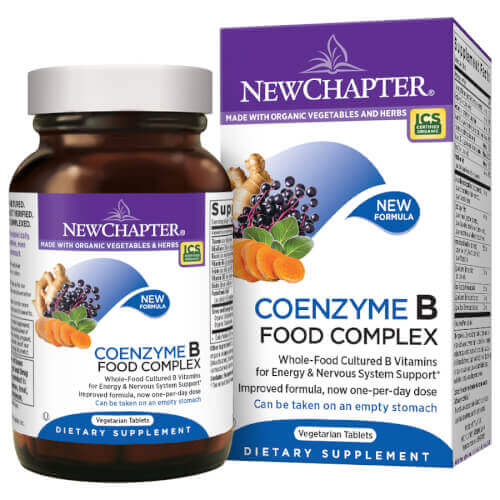 New Chapter Coenzyme B Food Complex One Daily