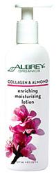 Aubrey Organics Collagen and Almond Moisturizing Lotion