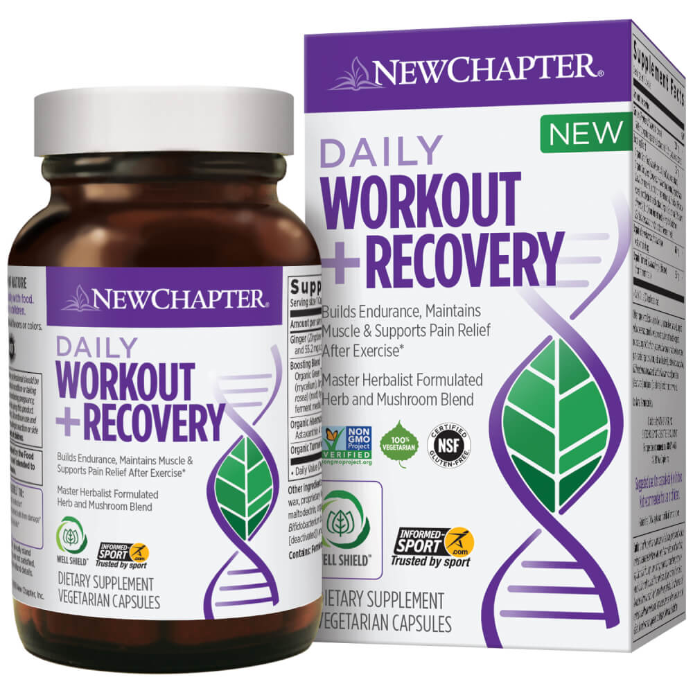 New Chapter Daily Workout and Recovery