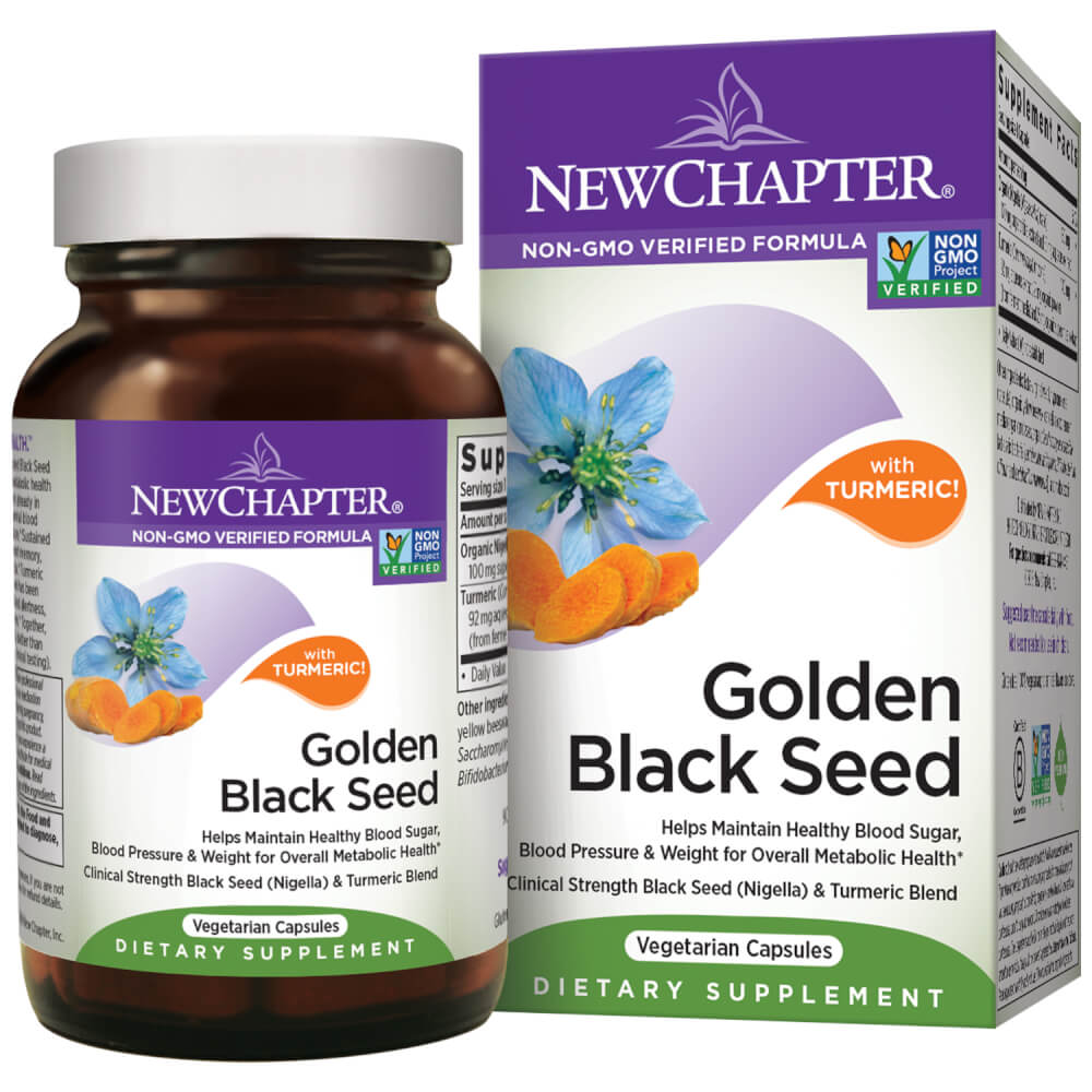 New Chapter Golden Black Seed