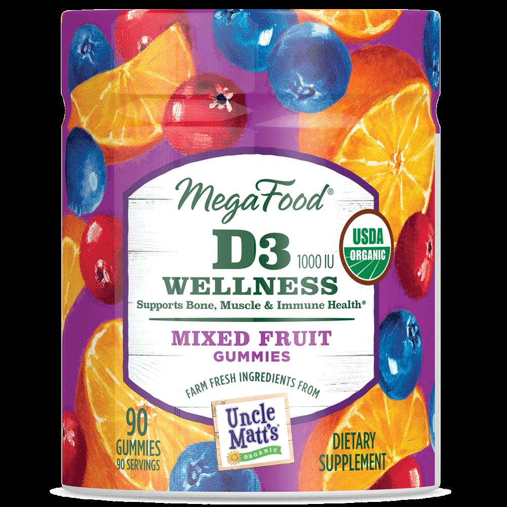 MegaFood Gummy D3 1000 IU