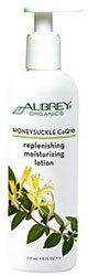 Aubrey Organics Honeysuckle CoQ10 Replenishing Moisturizing Lotion