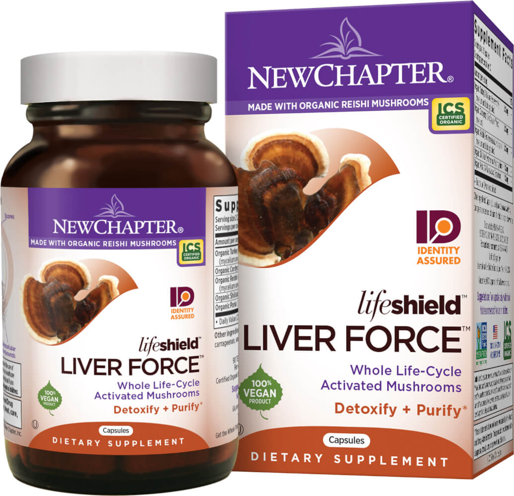 New Chapter Life Shield Liver Force