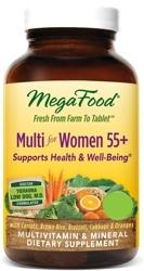 MegaFood Multi Women 55 Plus Two Daily
