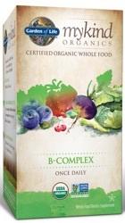 Garden of Life MyKind Organics B Complex