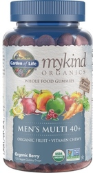 Garden of Life MyKind Organics Mens 40 Plus Gummy Multi