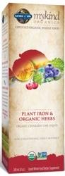 Garden of Life MyKind Organics Plant Iron and Organic Herbs