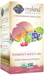 Garden of Life MyKind Organics Womens 40 Plus Multi