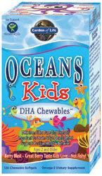 Garden of Life Oceans 3 Kids Chewable