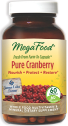 MegaFood Pure Cranberry