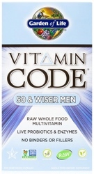 Garden of Life Vitamin Code Mens 50 and Wiser
