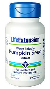 Life Extension Water Soluble Pumpkin Seed Extract