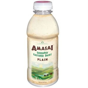 Beyond Organic Amasai Plain Flavor 16 oz Each 6 Bottles