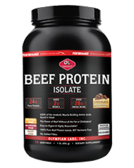 Olympian Labs Beef Protein  456 grams Chocolate Flavor