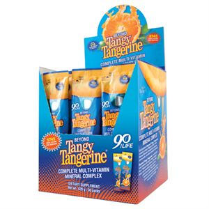 Youngevity Beyond Tangy Tangerine  30 ct box Single Servings