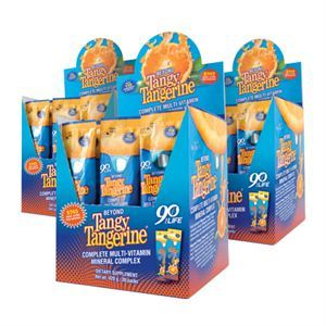 Youngevity Beyond Tangy Tangerine   30 Single Serv Box 3 Pack