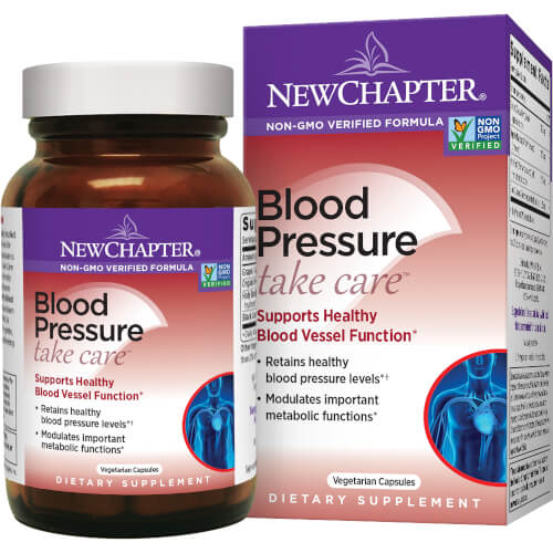 New Chapter Blood Pressure Take Care  60 Capsules