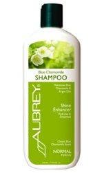 Aubrey Organics Blue Chamomile Shampoo  11 oz Bottle