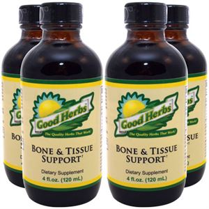 Good Herbs Bone and Tissue Support    4 oz 4 Pack