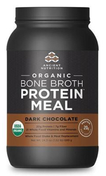 Ancient Nutrition Bone Broth Protein Meal Organic Dark Chocolate 15 Servings