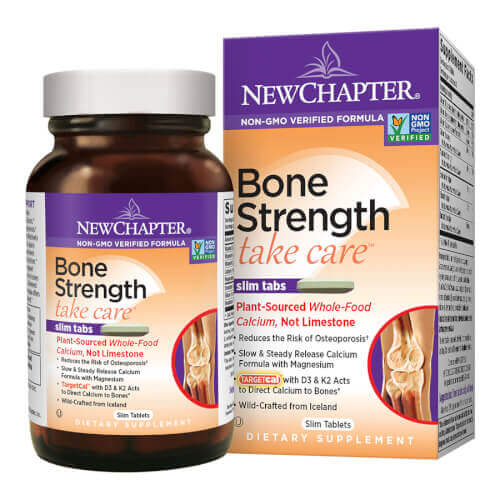 New Chapter Bone Strength Take Care  60 Slim Tablets