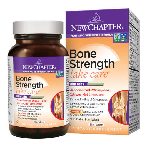 New Chapter Bone Strength Take Care  270 Slim Tablets