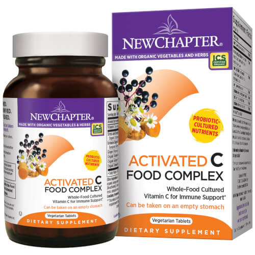 New Chapter C Food Complex  90 Tablets