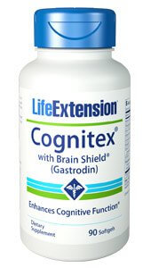 Life Extension Cognitex with Brain Shield  90 Soft Gels