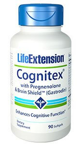 Life Extension Cognitex with Pregnenolone  90 Softgels