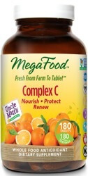 MegaFood Complex C  180 Tablets
