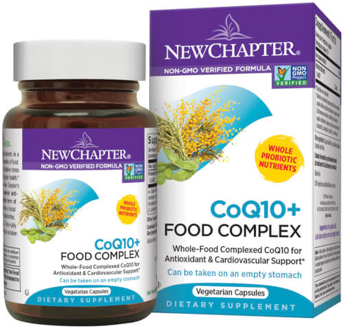 New Chapter CoQ10 Food Complex  60 Capsules