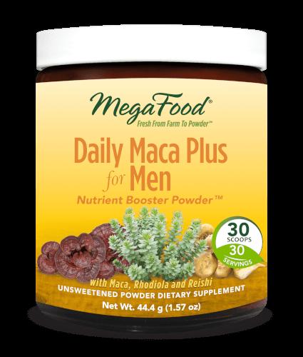 MegaFood Daily Maca Plus Men  30 Servings