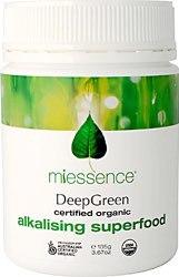 Miessence DeepGreen Alkalising Superfood  3.70 oz Powder