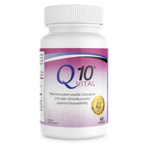 Dr Colbert Divine Health CoQ10 Vital Ubiquinone  100 mg 60 Capsules