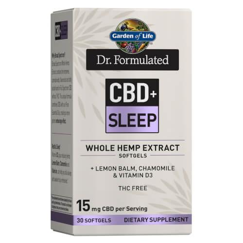 Dr Formulated CBD plus Sleep 15 mg 30 Softgels