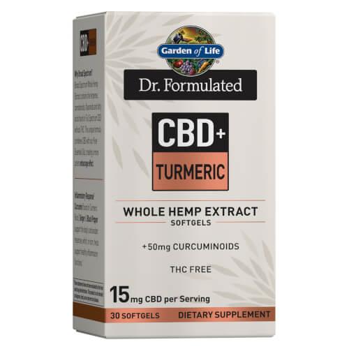Dr Formulated CBD Plus Turmeric 15 Mg 30 Softgels 888.244