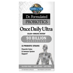 Garden of Life Dr Formulated Probiotics Once Daily Ultra  30 Capsules