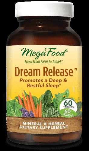 MegaFood Dream Release  60 Tablets