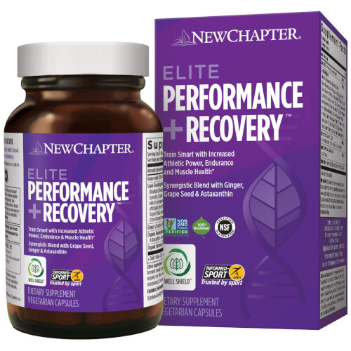 New Chapter Elite Performance and Recovery  60 Capsules