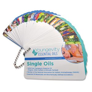 Youngevity Essential Oil Reference Card Set