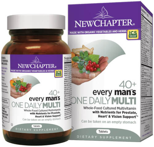 New Chapter Every Man One Daily 40 Plus  96 Tablets