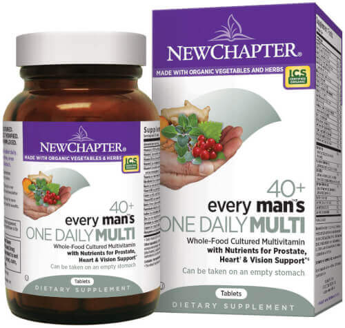 New Chapter Every Man One Daily 40 Plus  72 Tablets