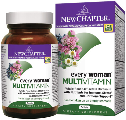 New Chapter Every Woman  120 Tablets