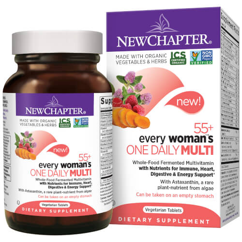 New Chapter Every Woman One Daily 55 Plus  72 Tablets