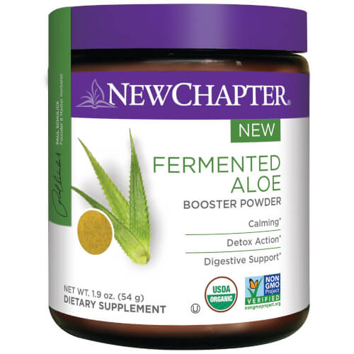 New Chapter Fermented  Aloe Booster Powder  45 Servings