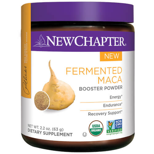New Chapter Fermented Maca Booster Powder  45 Servings
