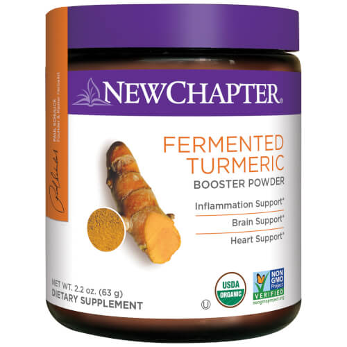 New Chapter Fermented Turmeric Booster Powder  45 Servings