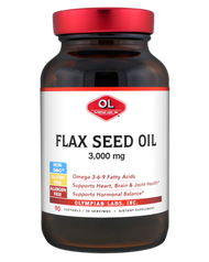 Olympian Labs Flax Seed Oil  1000 mg 90 Softgels