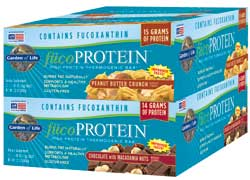 Garden of Life FucoProtein Bars  Peanut Butter Box of 12 Bars