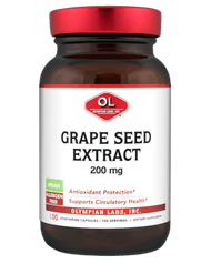 Olympian Labs Grape Seed Extract Extra Strength  200 mg 100 Capsules